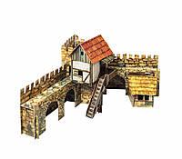 Картонная модель Городская площадь. Актёры 376 УмБум