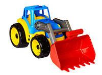 Трактор с ковшом Технок