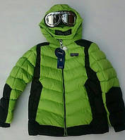 Куртка на мальчика зимняя GRACE с очками