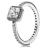 Кольцо из серебра Вечная классика