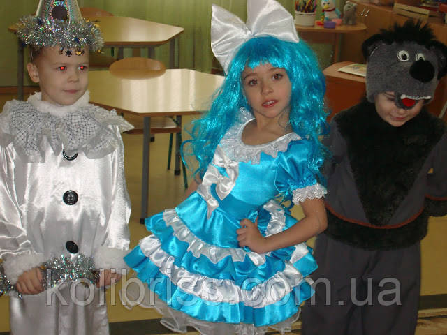Карнавальный костюм гламурной Мальвины прокат