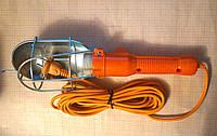 Переноска фонарь, переносной светильник Е27 с выключателем и кабелем 8 м