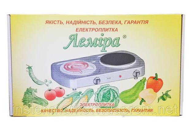 Электроплита Лемира  ЭПТ2-Т 2-2,0 кВт/220В (два узких ТЭНА) в интернет-магазине