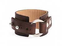 Кожаный браслет Сircle