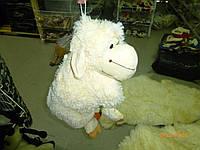 """Игрушка-подушка """" овца мохната"""" средняя"""