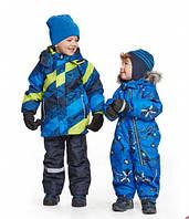 Детские зимние комбинезоны, костюмы, куртки и полукомбинезоны