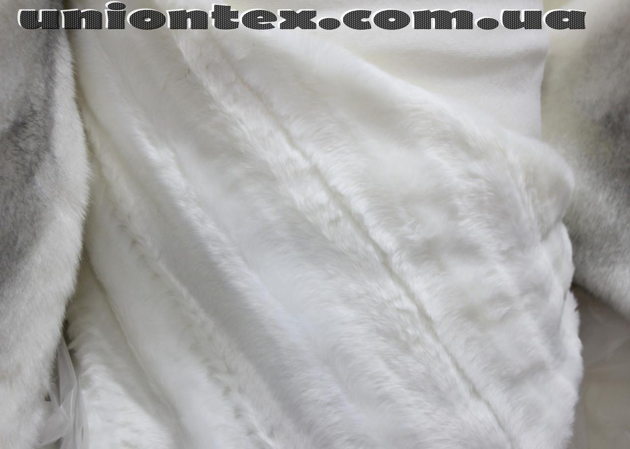 Мех искусственный норка молочная жаккард (ворс 2 см) - Магазин тканей и  фурнитуры Юнионтекс 8377ace3632