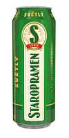 Пиво Staropramen svetle 500 мл ж/б
