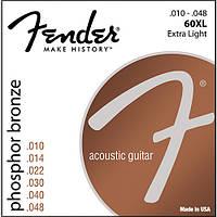 Струны для акустики Fender 60XL Phosphor Bronze