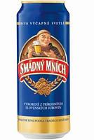 Пиво Smadny Mnich 4.2 % svetle 0.5 л. ж/б