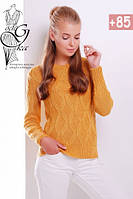Шерстяной женский свитер с акрилом Марта, фото 1