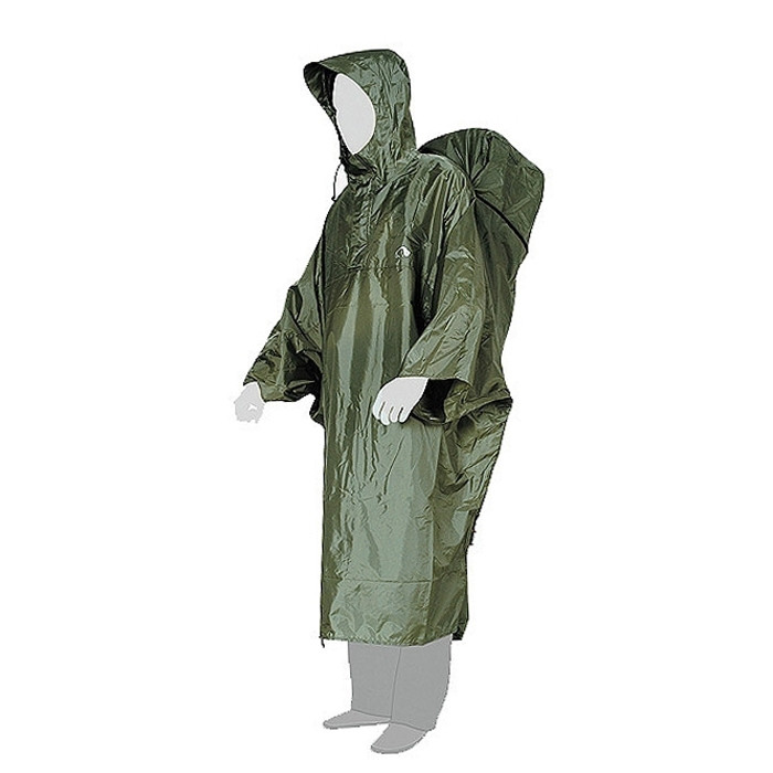 Накидка от дождя CapeBag зелёный XXL-XXXL