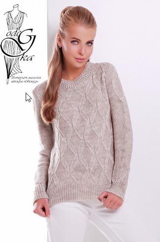 Подобные товары-1Шерстяного женского свитера с акрилом Марта