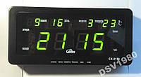 Электронные настенные(настольные) часы  CX-2158