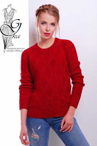 Подобные товары-3 Шерстяного женского свитера с акрилом Марта