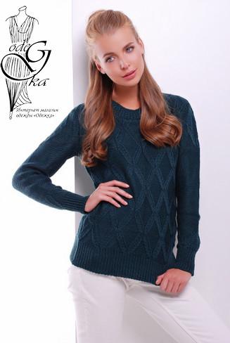 Подобные товары-4 Шерстяного женского свитера с акрилом Марта