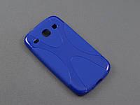 Чехол NewLine для Samsung Galaxy Core i8262 i8260 синий