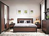 Кровать двуспальна LOZ 160 Лорен  (BRW/БРВ Украина) , фото 2