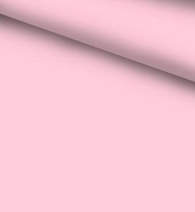 Бавовняна тканина бязь однотонна рожева світла 2,2