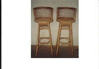 Барний стілець із спинкою