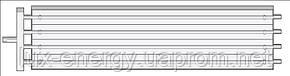 Водяные инфракрасные потолочные панели Meibes HSP концевые