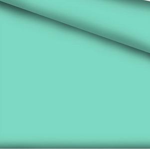 Хлопковая ткань однотонная мятная №322
