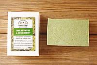 Греческое оливковое мыло ручной работы Эвкалипт & Мята (The Natural Workshop), 145g., Греция, фото 1