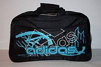 Дорожная сумка adidas синяя абстракция
