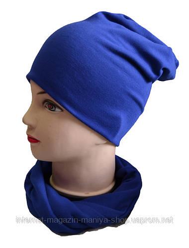 Комплект женский шапка и шарф-хомут