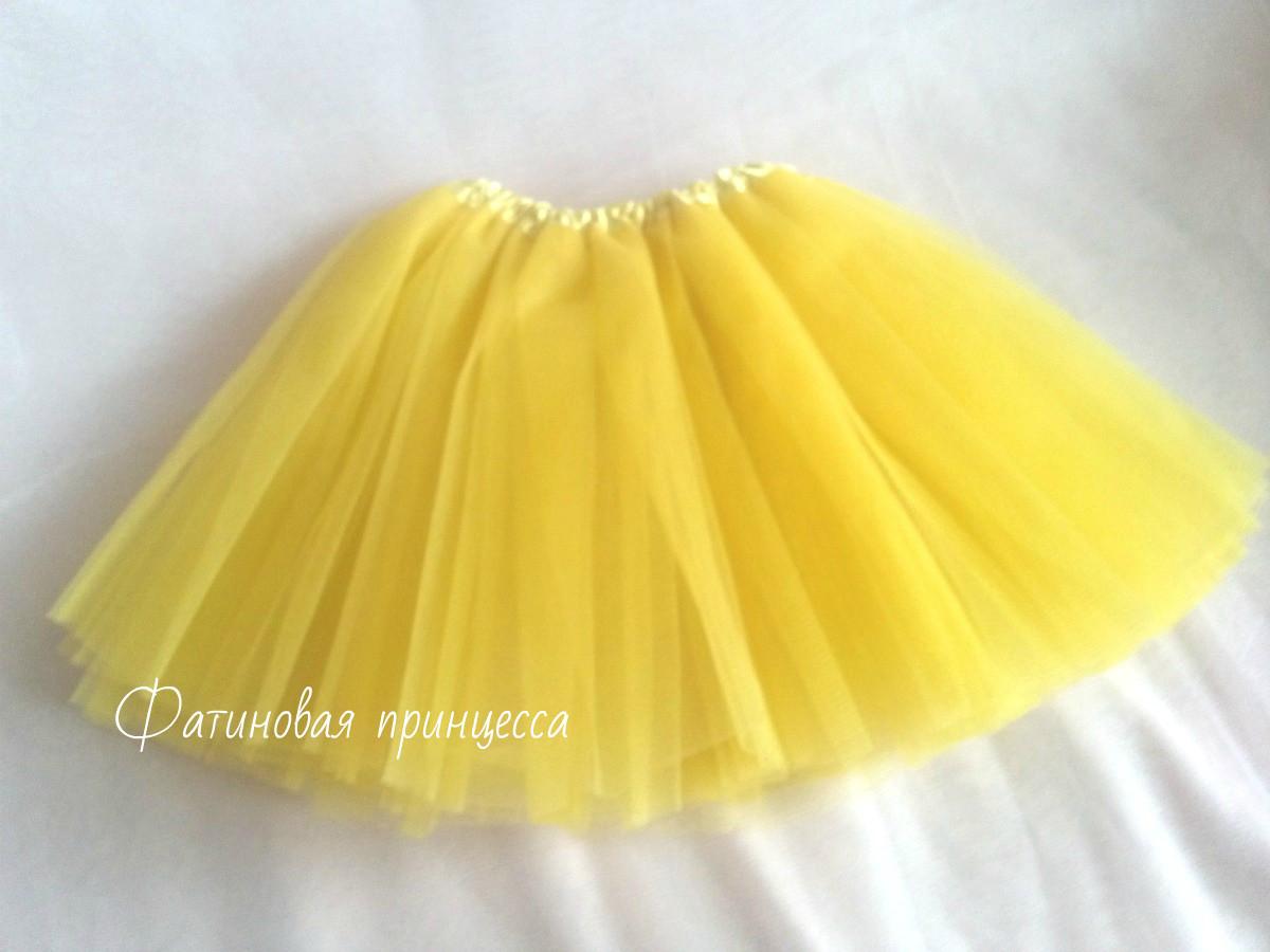 Купит юбки из фатина для девочки