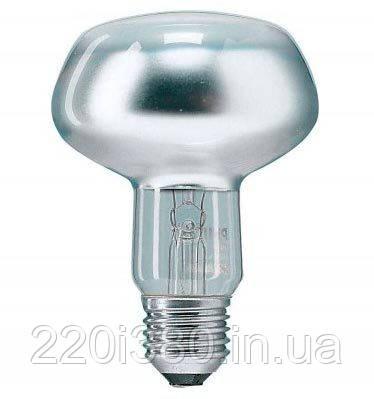 Лампа PHILIPS R80 100Вт Е27 накаливания рефлекторная
