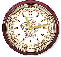 Настенные часы  Золотая флоралия