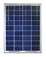 Cолнечная батарея (панель) 20Вт 12В поликристаллическая. Произодитель- AXIOMA energy
