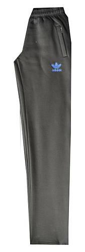 Спортивные штаны мужские Adidas полу батал теплые