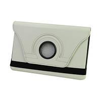 Чехол Smart Cover для Apple iPad mini с поворотом на 360 градусов - белый цвет