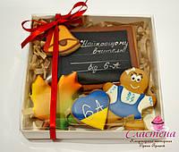 Пряник медовый имбирный - Набор подарочный учителю