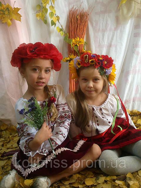 Украинский национальный костюм на вечерницы