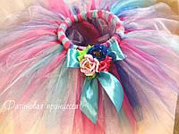 Юбка-пачка ту-ту разноцветная