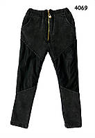 Теплые обтягивающие джинсы skinny для девочки. 100 см