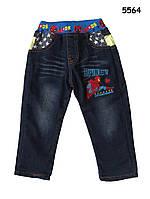 Теплые джинсы Spiderman для мальчика. 95, 100, 120, 130 см
