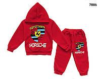 Теплый костюм Porsche для мальчика. 2-3;  3-4 года