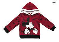 Теплая кофта Mickey Mouse для мальчика. 80 см