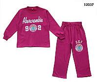 Утепленный спортивный костюм для девочки. 5 лет (110 см)