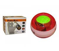 Power Ball тренажер для кистей рук FI-2949 Force Ball (металл, пластик, d-7см)