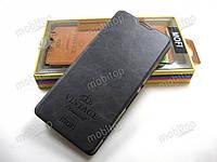 Кожаный чехол книжка MOFI Sony Xperia XA (темно-серый), фото 1