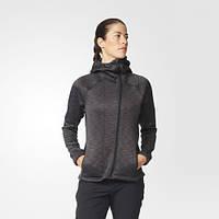 Теплый женский джемпер adidas Climaheat Hooded Fleece Jacket AP8741
