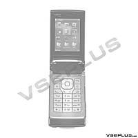 Корпус Nokia N76, черный, high copy