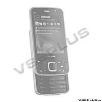 Корпус Nokia N96, черный, high copy