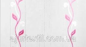 """Тюль вуаль фентези """"Плетение"""" розовый, фото 3"""