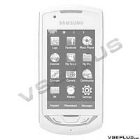 Корпус Samsung S5620 Monte, черный, high copy